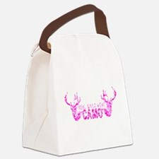 REAL GIRLS WEAR CAMO Canvas Lunch Bag