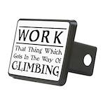 Work and Climbing Rectangular Hitch Cover
