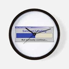 SarcasmLoading.PNG Wall Clock