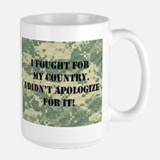 I Fought For My Country I Didn't Apologize For It!