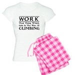 Work and Climbing Women's Light Pajamas