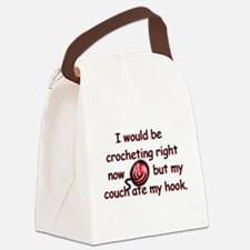 couchatehook042209.jpg Canvas Lunch Bag