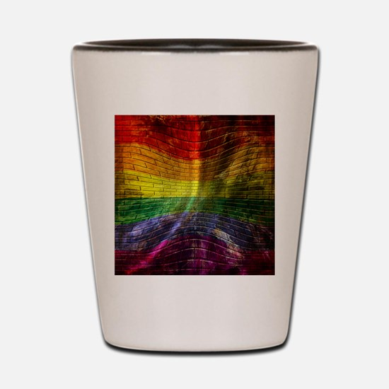 LGBT Shot Glass
