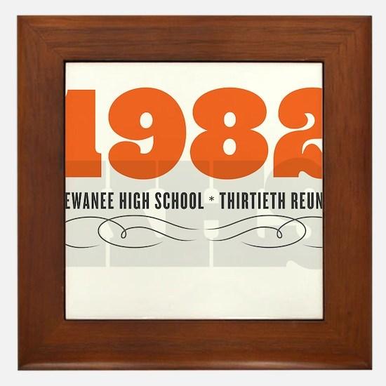 Kewanee High School - 30th Class Reunion - #1 Fram