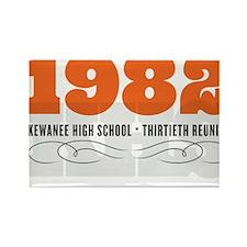 Kewanee High School - 30th Class Reunion - #1 Rect