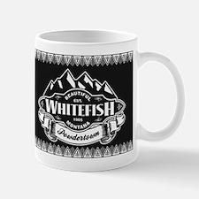 Whitefish Mountain Emblem Mug