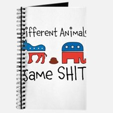 different animals same shit Journal