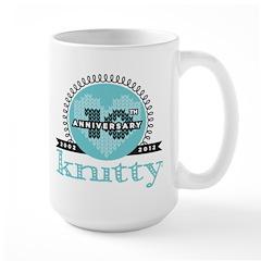 10th Anniversary Seaside Blue Mug