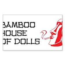 Bamboo House of Dolls Decal