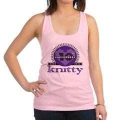 10th Anniversary Purple Racerback Tank Top