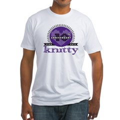10th Anniversary Purple Fitted T-Shirt