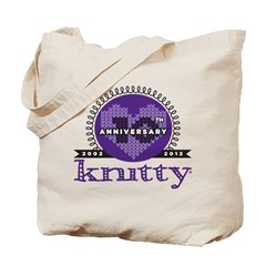 10th Anniversary Purple Tote Bag
