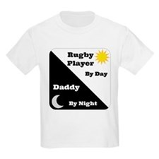 Rugby Player by day Daddy by night T-Shirt