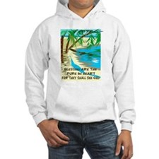 Blessed are the pure in heart Hoodie