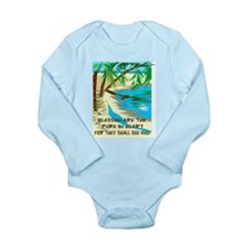 Blessed are the pure in heart Long Sleeve Infant B