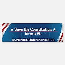 Save the Constitution Bumper Bumper Bumper Sticker