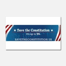 Save the Constitution Car Magnet 20x12