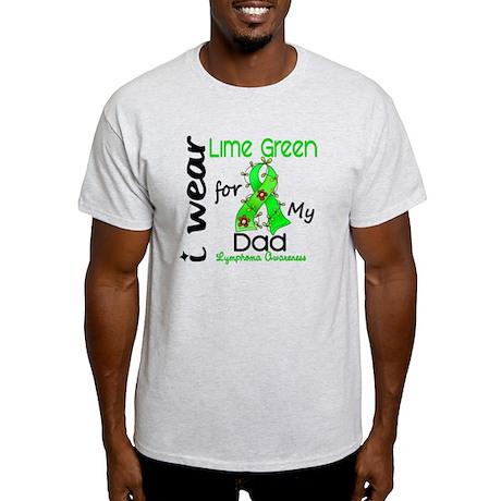 I Wear Lime 43 Lymphoma Light T-Shirt