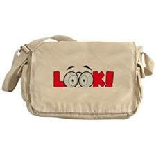 Eye Messenger Bag