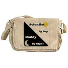 Scientist by day Daddy by night Messenger Bag