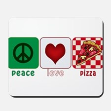 PeaceLovePizza.png Mousepad