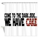 DarkSideCake.png Shower Curtain