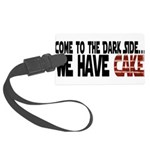 DarkSideCake.png Large Luggage Tag