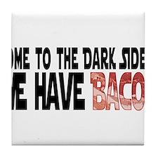 DarkSideBacon.png Tile Coaster
