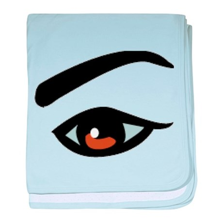 Eye baby blanket