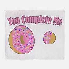 YouCompleteMe.png Throw Blanket