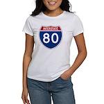Interstate 80 Women's T-Shirt