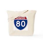 Interstate 80 Tote Bag