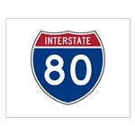 Interstate 80 Small Poster