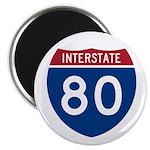 Interstate 80 Magnet