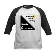 Softball Coach by day Daddy by night Tee