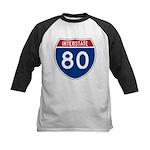 Interstate 80 Kids Baseball Jersey