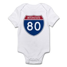 Interstate 80 Infant Creeper