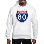 Interstate 80 Hooded Sweatshirt