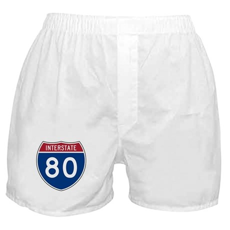 Interstate 80 Boxer Shorts