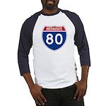 Interstate 80 Baseball Jersey