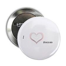 I heart Borzois Button