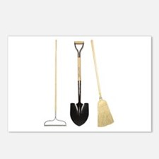 Gardening Tools Postcards (Package of 8)