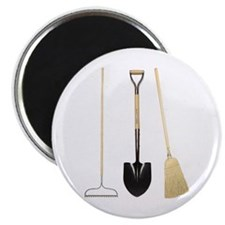 "Gardening Tools 2.25"" Magnet (10 pack)"
