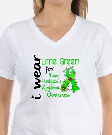 I Wear Lime 43 Lymphoma Shirt