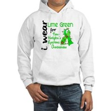 I Wear Lime 43 Lymphoma Jumper Hoody