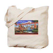 Washington State Greetings Tote Bag