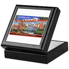 Washington State Greetings Keepsake Box