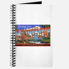 Washington State Greetings Journal