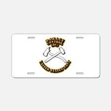 Navy - Rate - DC Aluminum License Plate