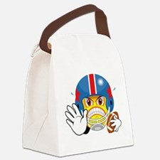FOOTBALL_SMILEY_1.png Canvas Lunch Bag